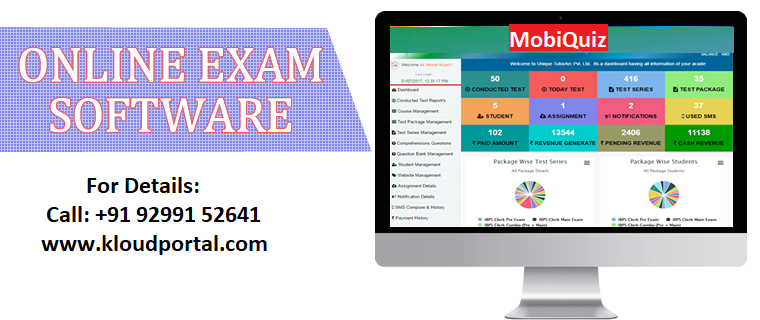 ADVANTAGES OF ONLINE EXAM SYSTEM